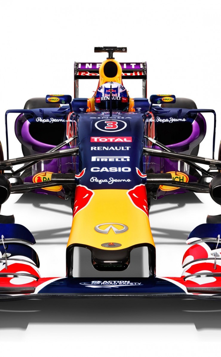 Infiniti Red Bull Racing RB11 2015 Formula 1 Car Wallpaper for Apple iPhone 4 / 4s