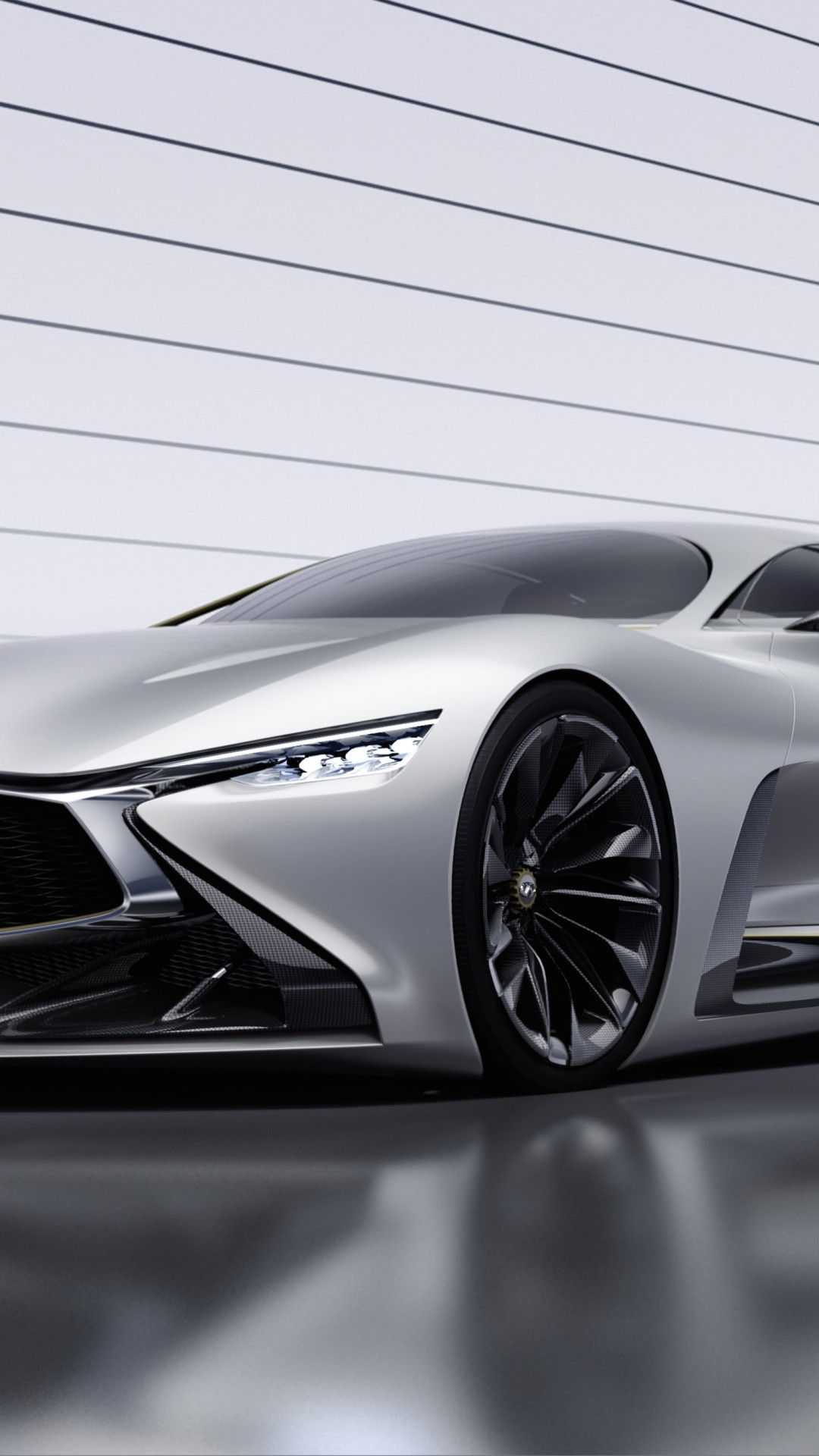Infiniti Vision GT Concept Wallpaper for HTC One