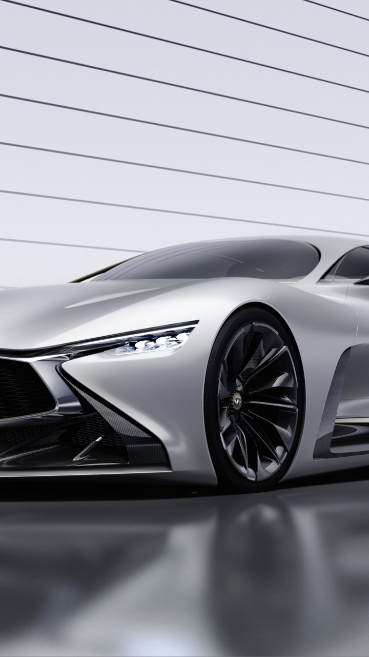 Infiniti Vision GT Concept Wallpaper for HTC One mini