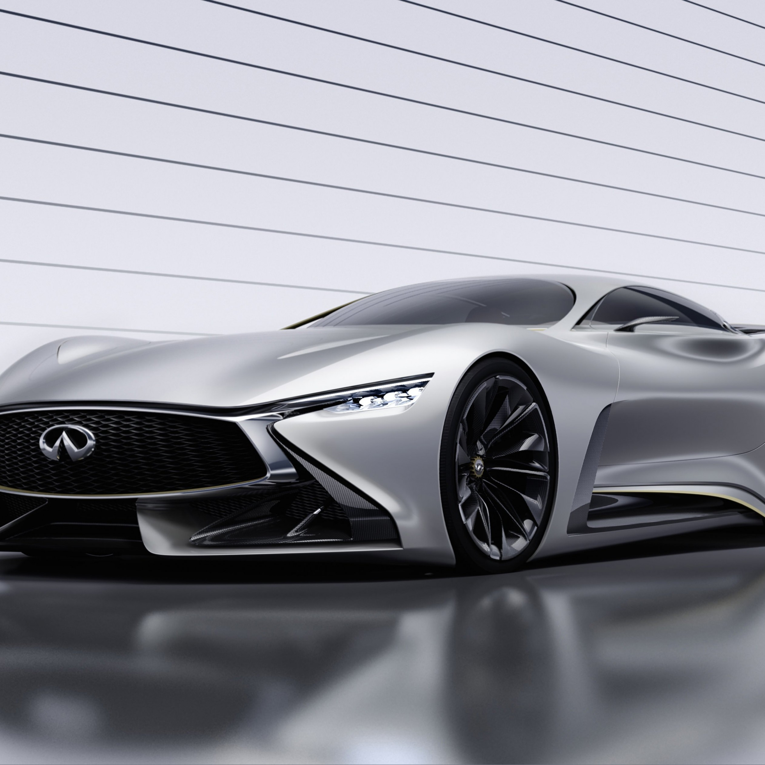 Infiniti Vision GT Concept Wallpaper for Apple iPad 4