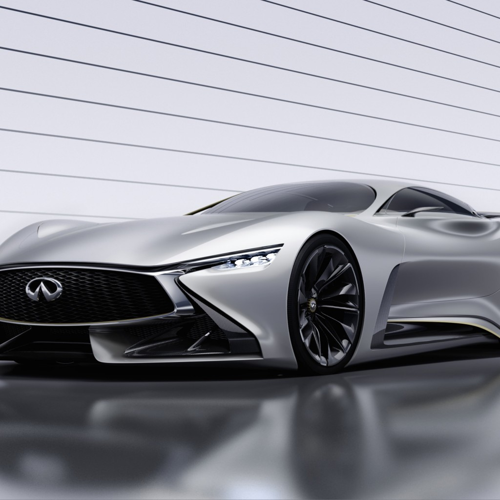 Infiniti Vision GT Concept Wallpaper for Apple iPad