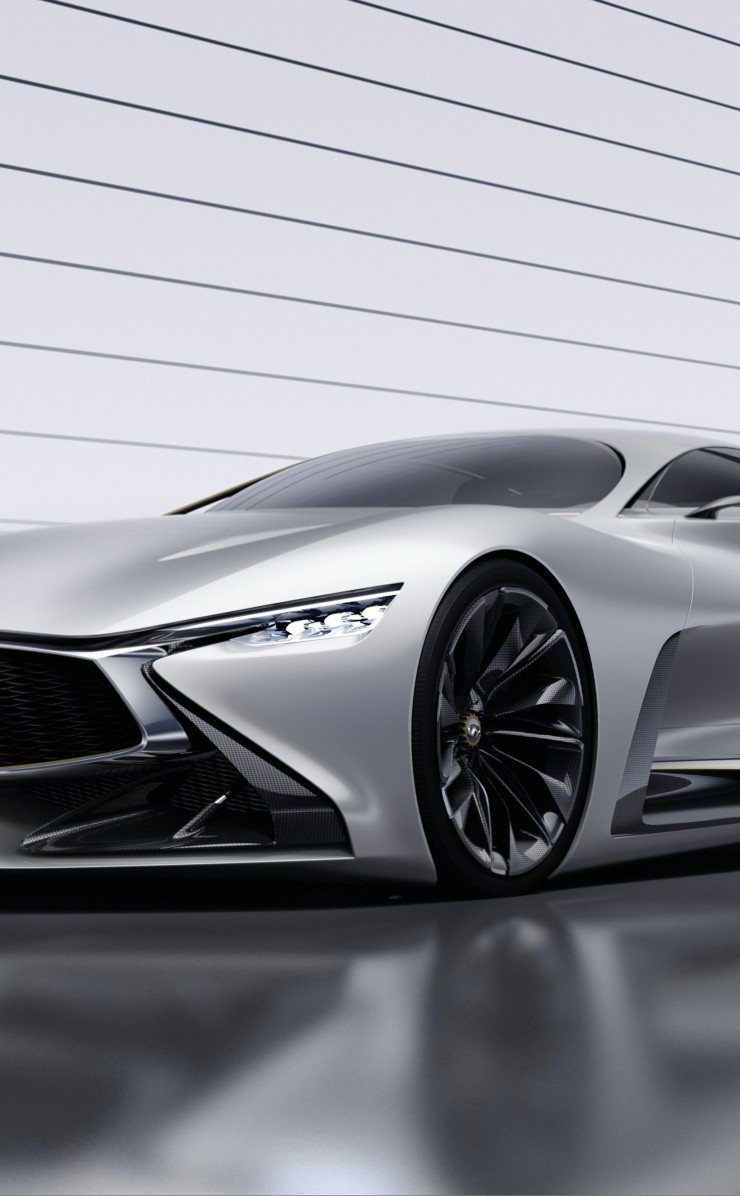 Infiniti Vision GT Concept Wallpaper for Apple iPhone 4 / 4s