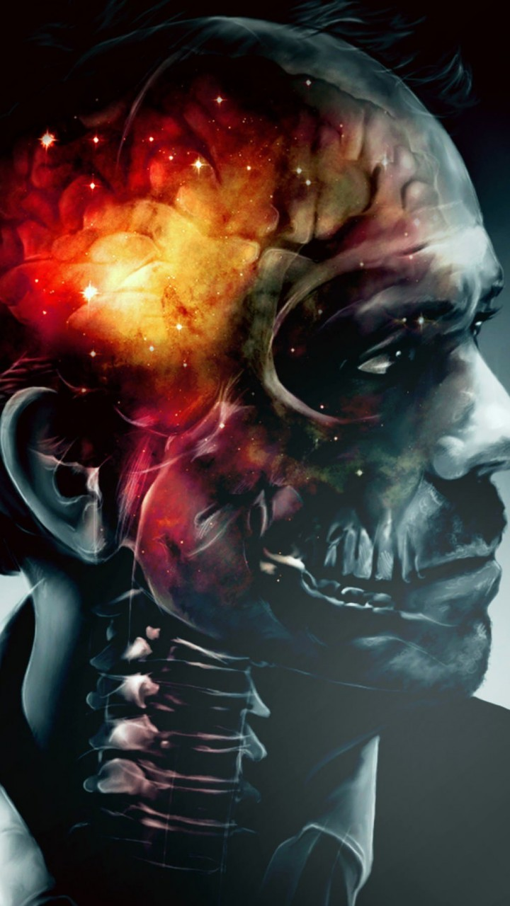 Inside House's Head Artwork Wallpaper for Motorola Droid Razr HD