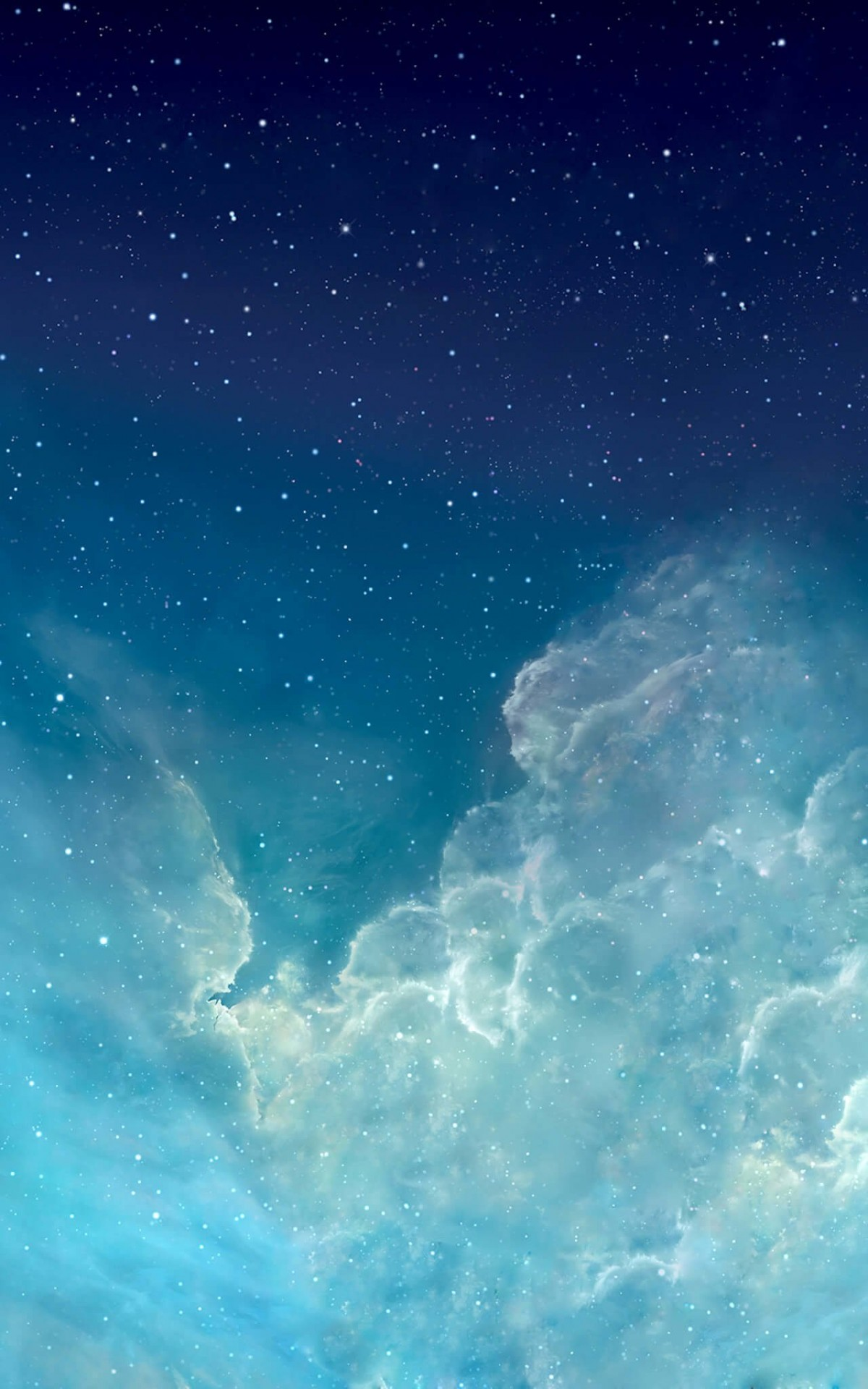 iOS Nebula Wallpaper for Amazon Kindle Fire HDX