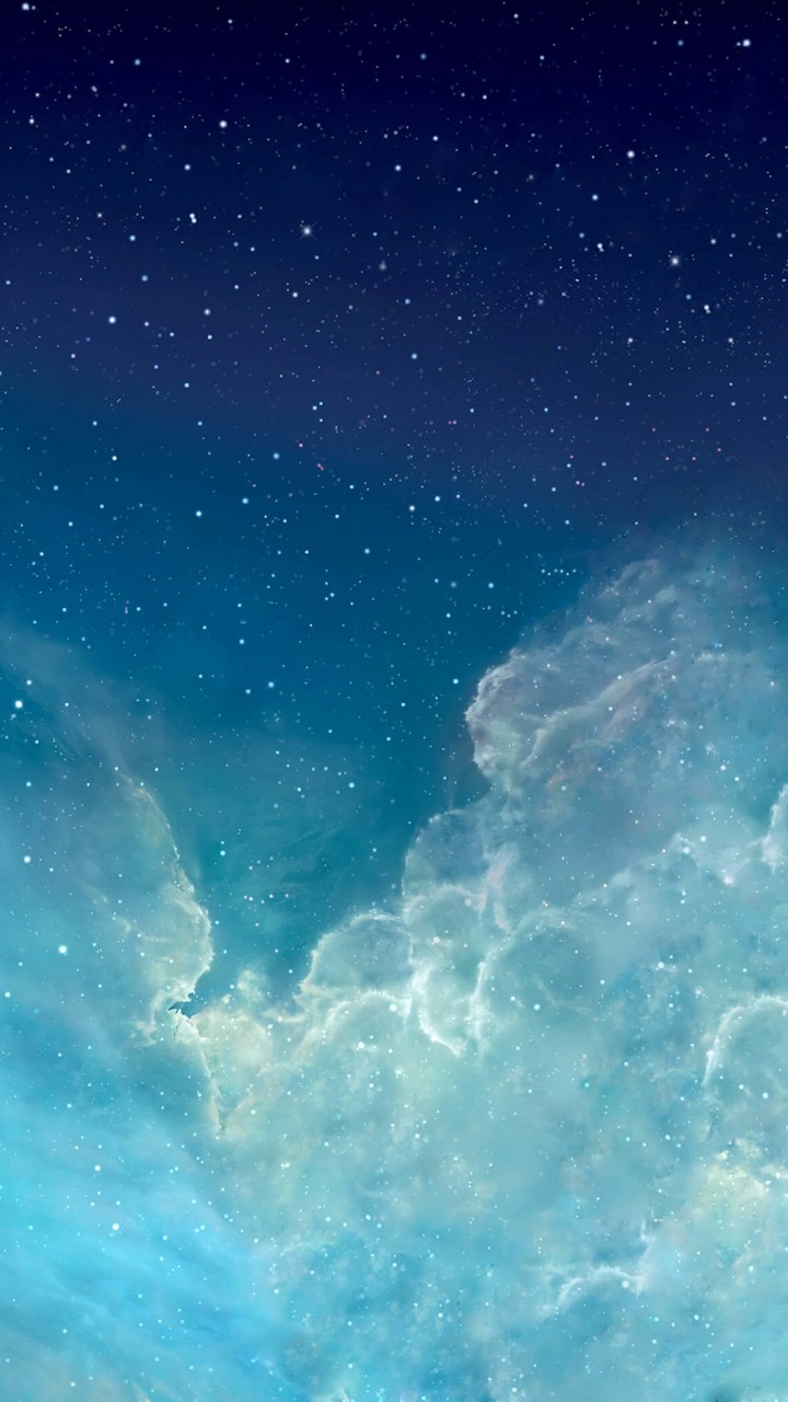 iOS Nebula Wallpaper for Xiaomi Redmi 2