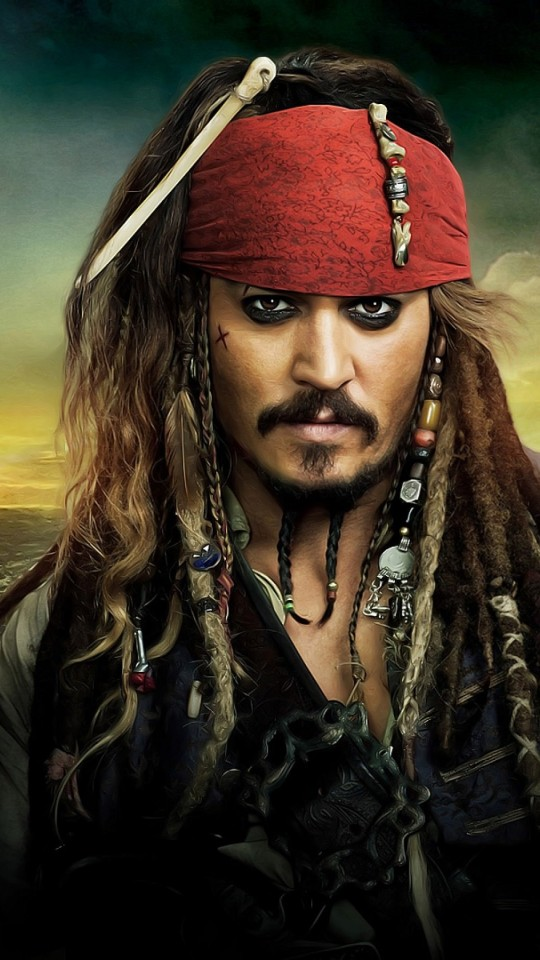 Jack Sparrow - Pirates Of The Caribbean Wallpaper for SAMSUNG Galaxy S4 Mini