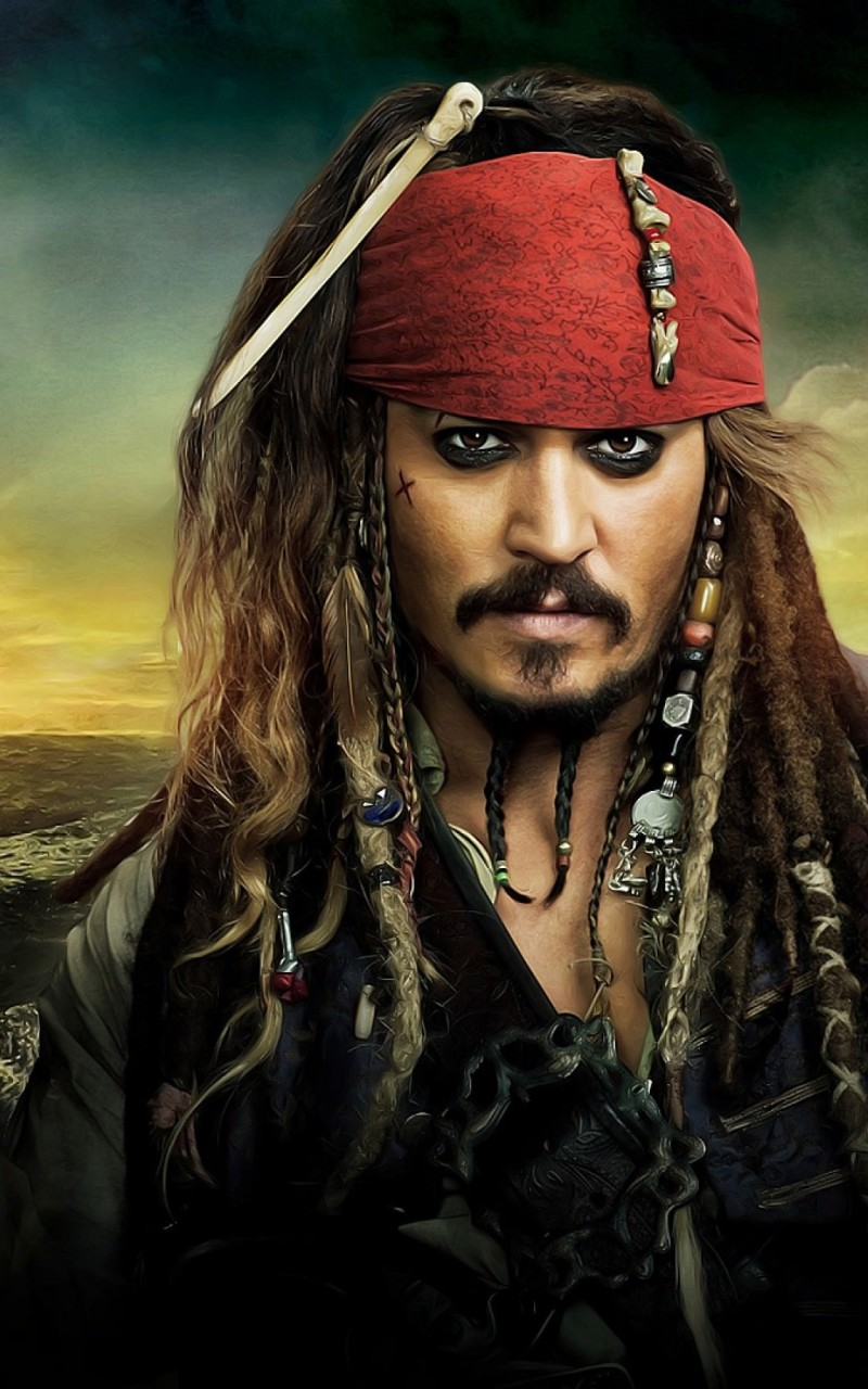 Jack Sparrow - Pirates Of The Caribbean Wallpaper for Amazon Kindle Fire HD