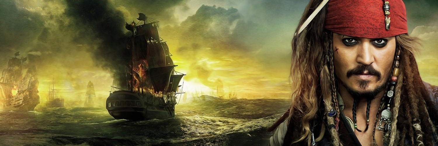 Jack Sparrow - Pirates Of The Caribbean Wallpaper for Social Media Twitter Header