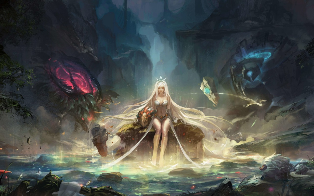 Janna - League of Legends Wallpaper for Desktop 1280x800