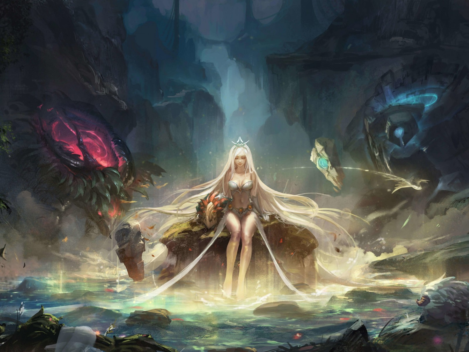 Janna - League of Legends Wallpaper for Desktop 1600x1200