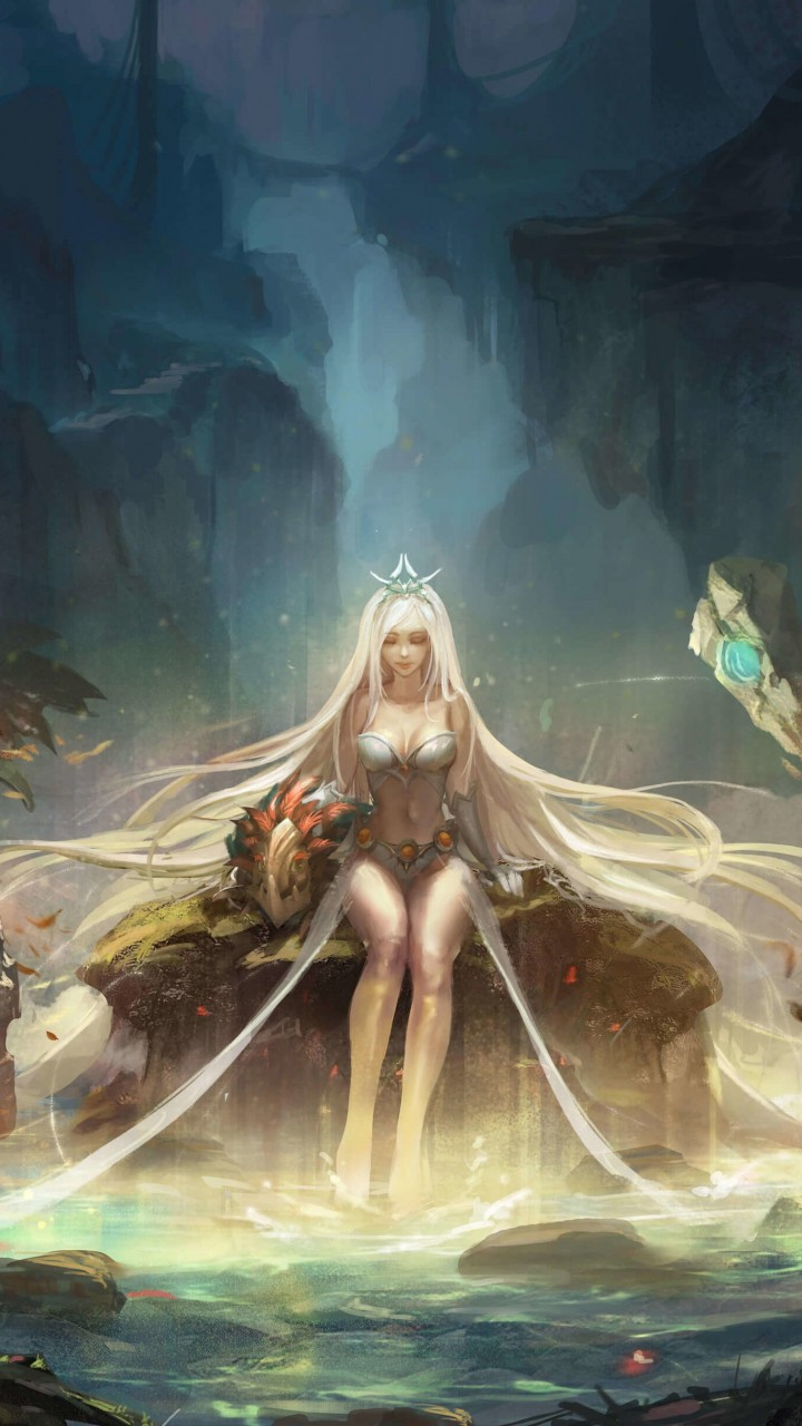 Janna - League of Legends Wallpaper for Motorola Droid Razr HD