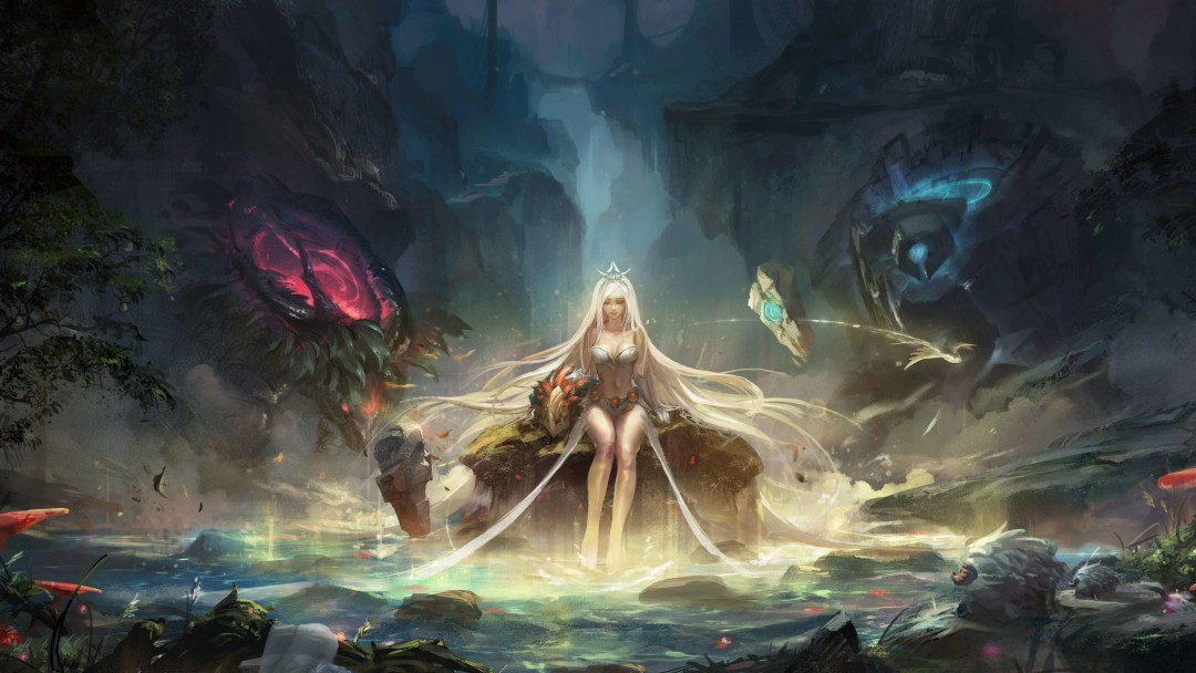 Janna - League of Legends Wallpaper for Social Media Google Plus Cover