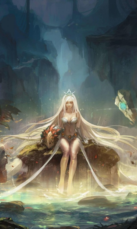 Janna - League of Legends Wallpaper for HTC Desire HD