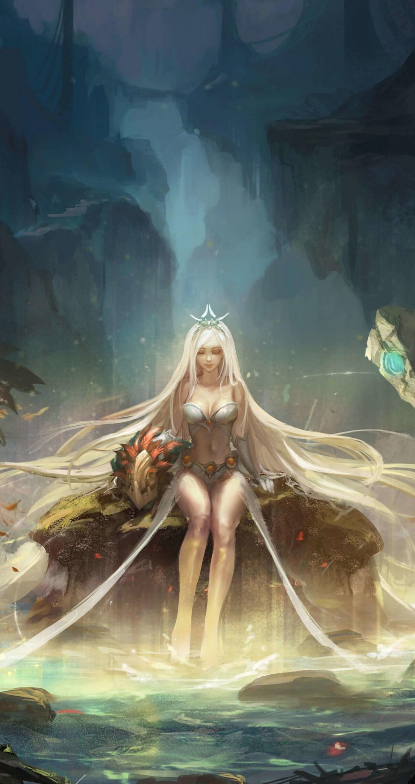 Janna - League of Legends Wallpaper for Apple iPhone 6 / 6s