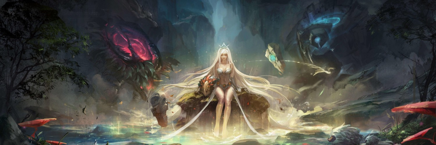 Janna - League of Legends Wallpaper for Social Media Twitter Header