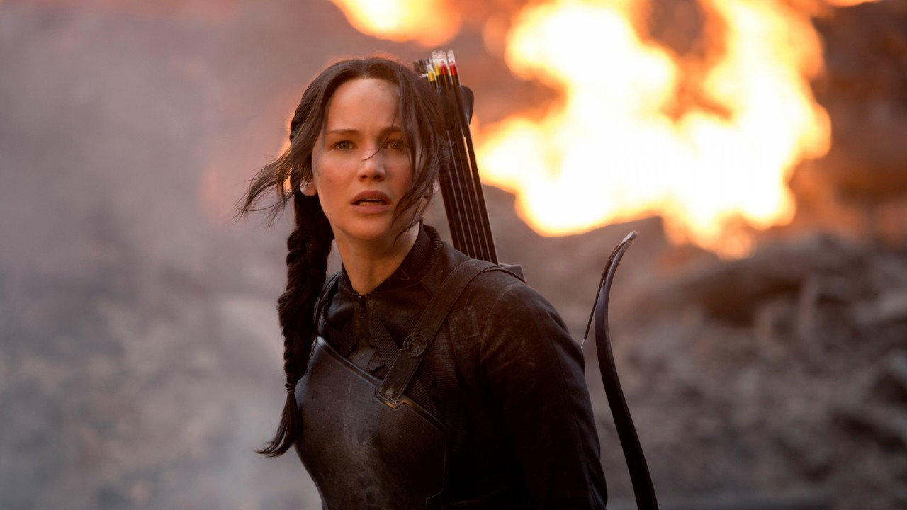 Jennifer Lawrence in The Hunger Games Wallpaper for Desktop 1280x720