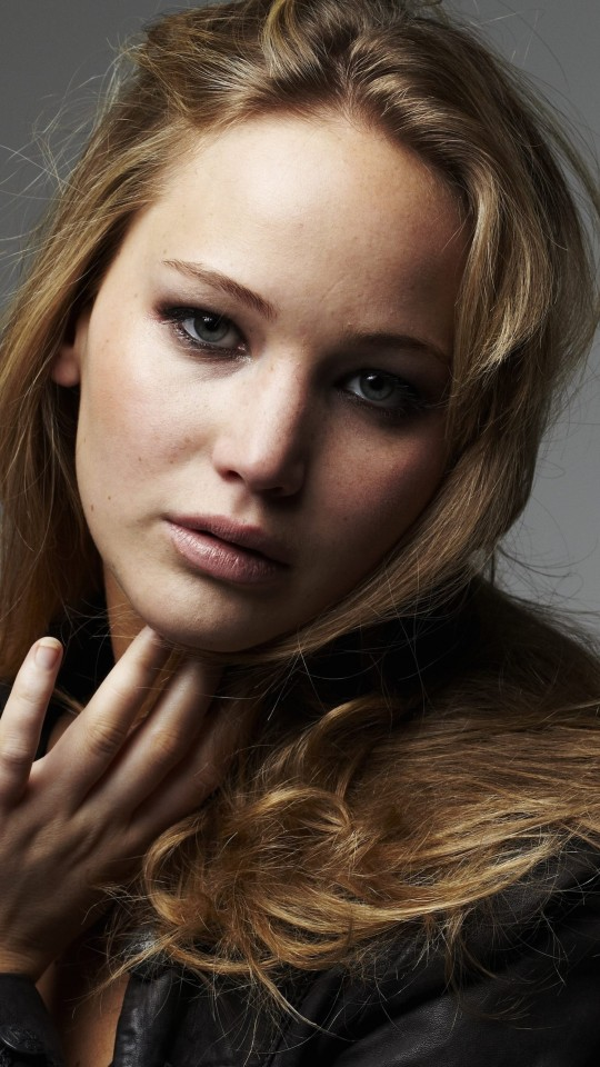 Jennifer Lawrence Portrait Wallpaper for LG G2 mini