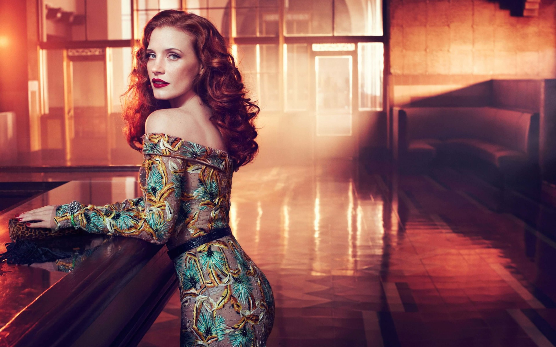 Jessica Chastain Wallpaper for Desktop 1920x1200