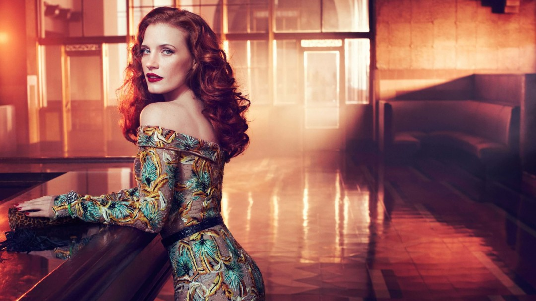 Jessica Chastain Wallpaper for Social Media Google Plus Cover