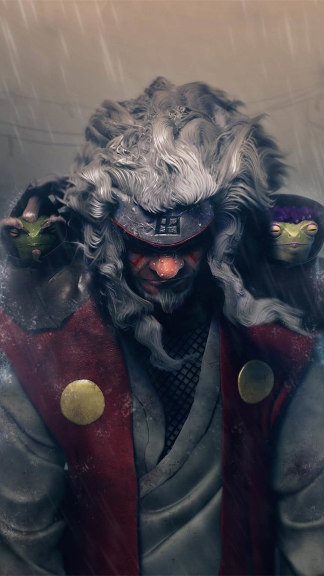 Jiraiya Fan Art - Naruto Wallpaper for Google Nexus 5