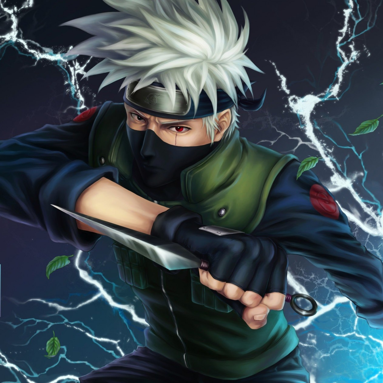 Kakashi Hatake Wallpaper for Apple iPad mini