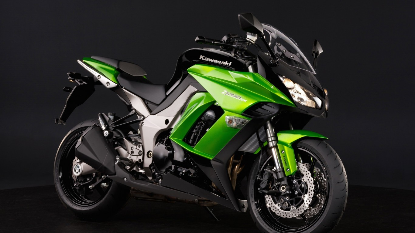 Kawasaki Kawasaki Z1000SX Wallpaper for Desktop 1366x768
