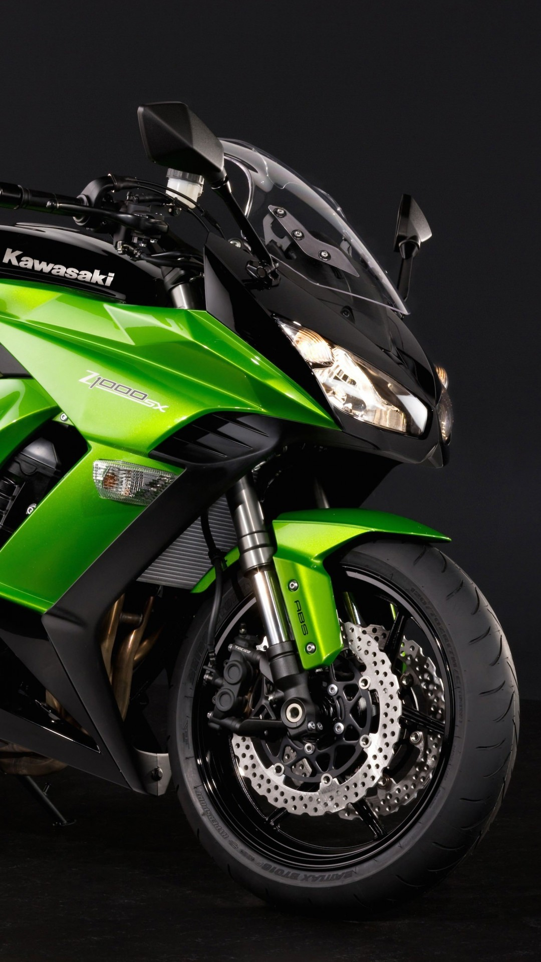 Kawasaki Kawasaki Z1000SX Wallpaper for SAMSUNG Galaxy S4