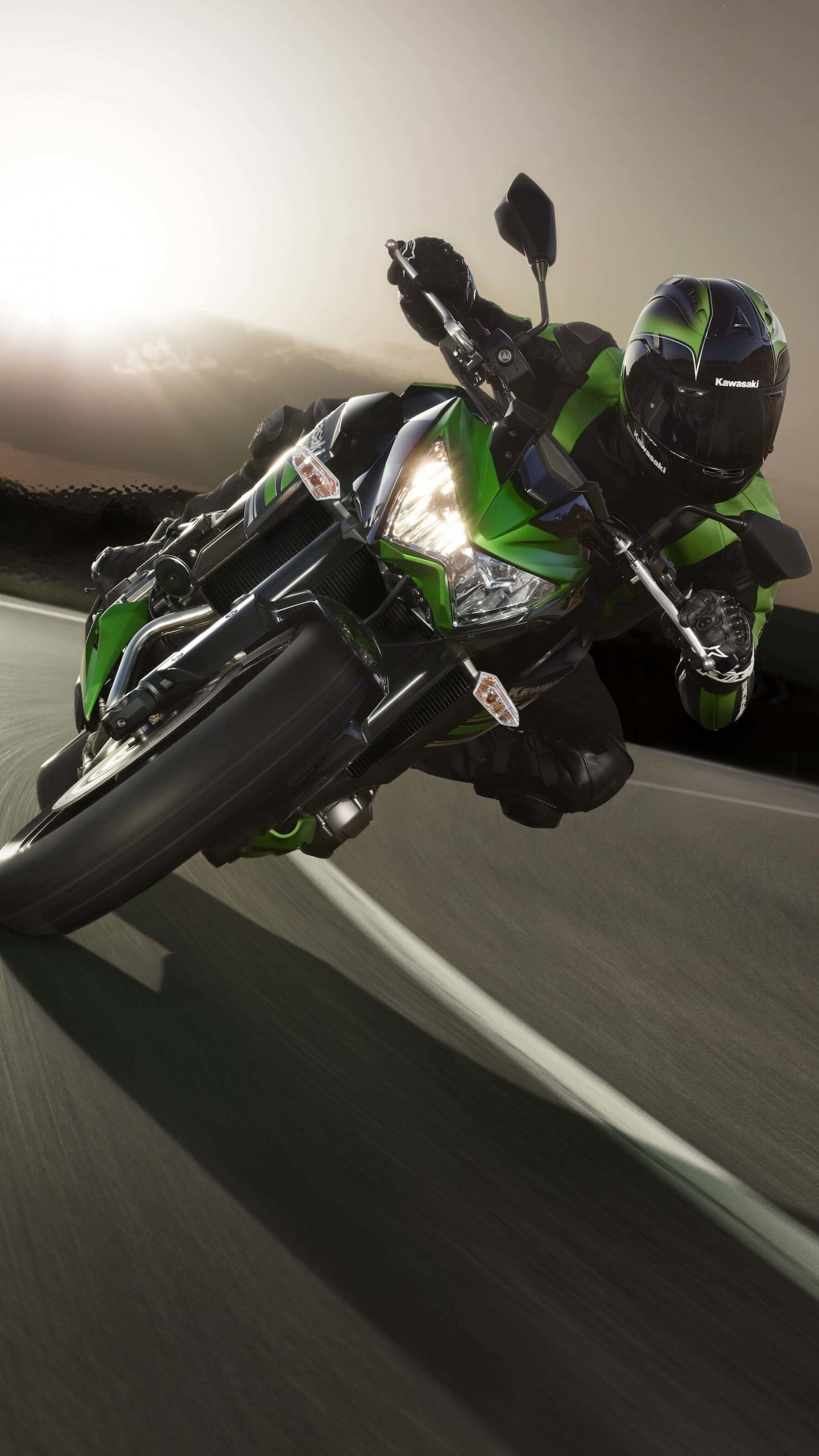 Kawasaki Ninja ZX-10R Wallpaper for SAMSUNG Galaxy Note 4