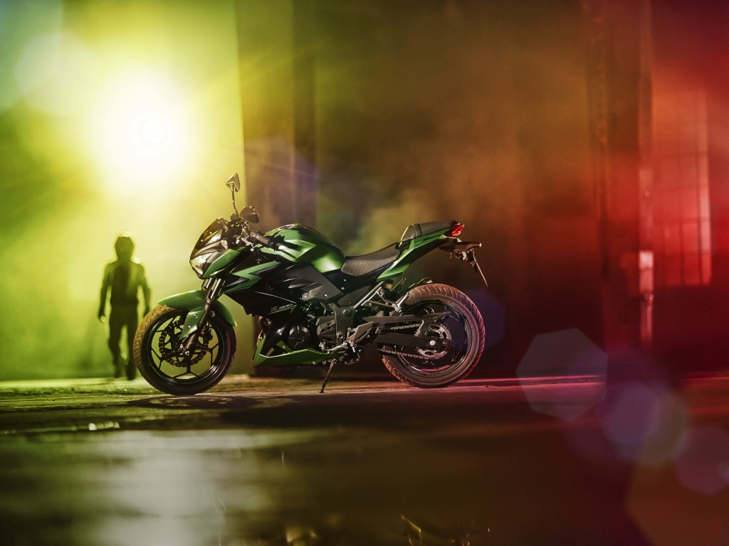 Kawasaki Z300 Wallpaper for Desktop 1024x768