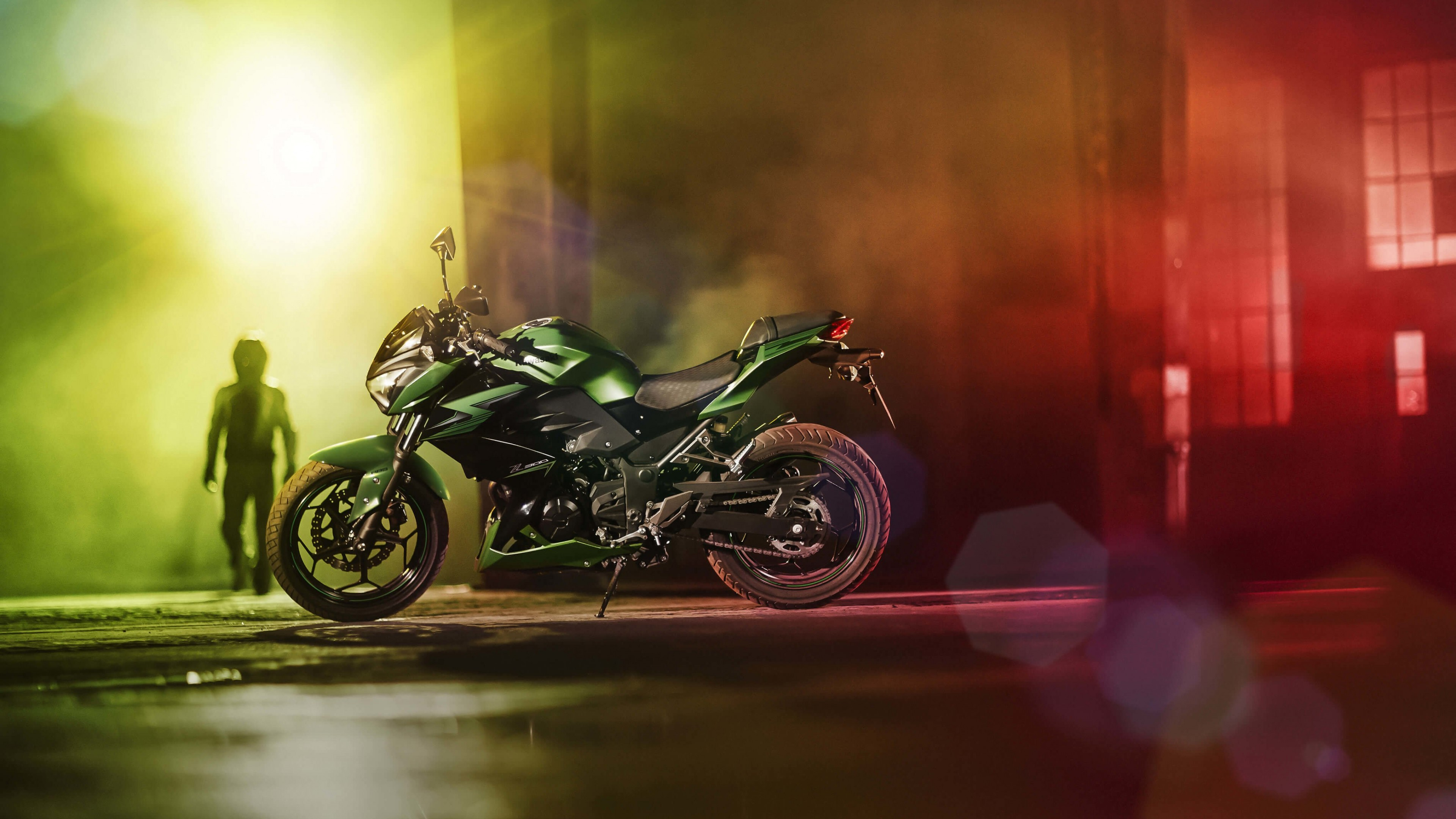 Kawasaki Z300 Wallpaper for Desktop 4K 3840x2160