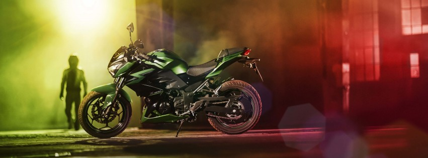 Kawasaki Z300 Wallpaper for Social Media Facebook Cover