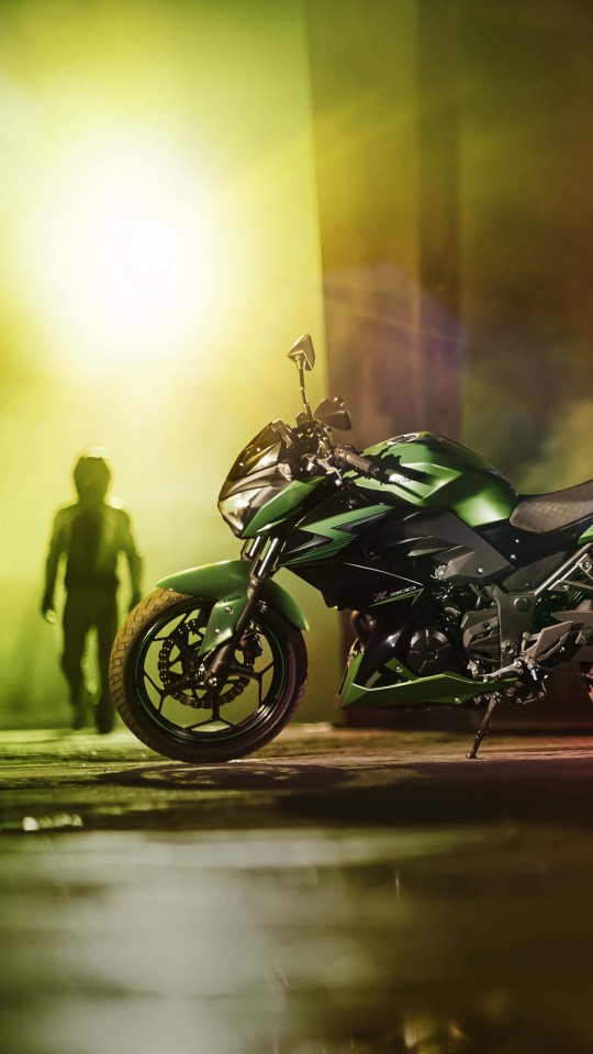 Kawasaki Z300 Wallpaper for SAMSUNG Galaxy S4 Mini
