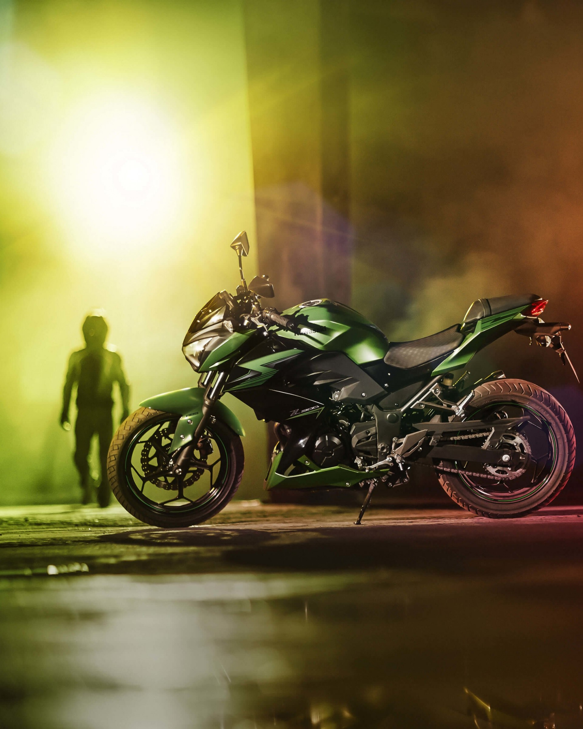 Kawasaki Z300 Wallpaper for Google Nexus 7