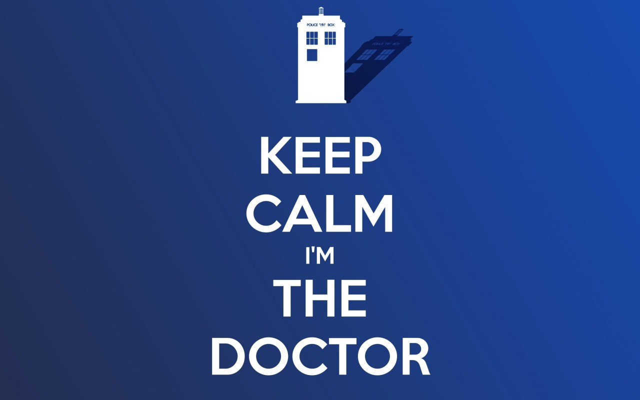 Keep Calm Im The Doctor Wallpaper for Desktop 1280x800