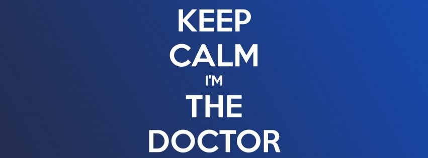 Keep Calm Im The Doctor Wallpaper for Social Media Facebook Cover