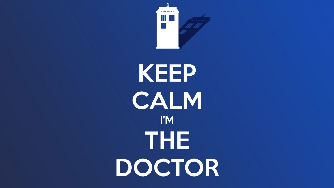 Keep Calm Im The Doctor Wallpaper for Social Media Google Plus Cover