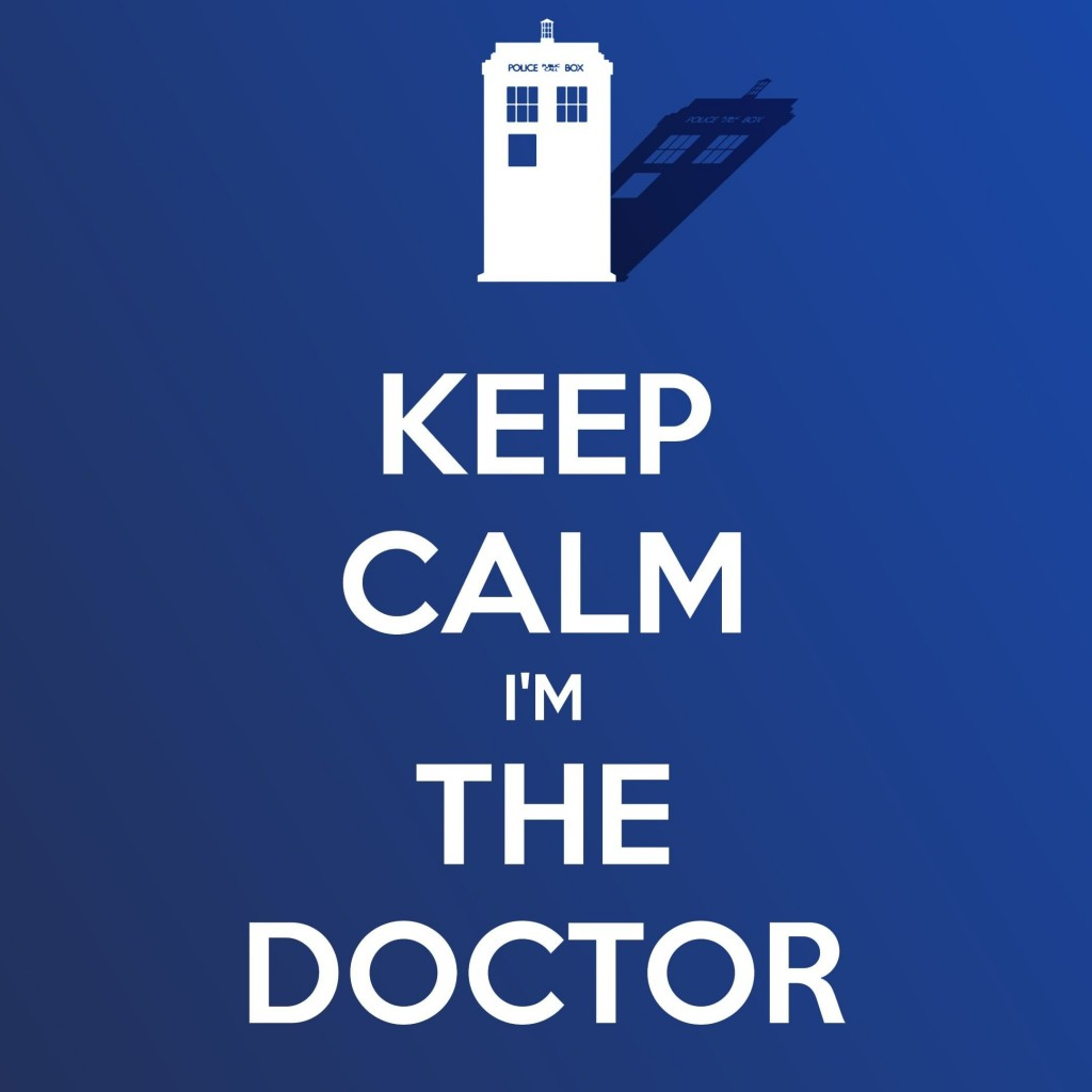 Keep Calm Im The Doctor Wallpaper for Apple iPad