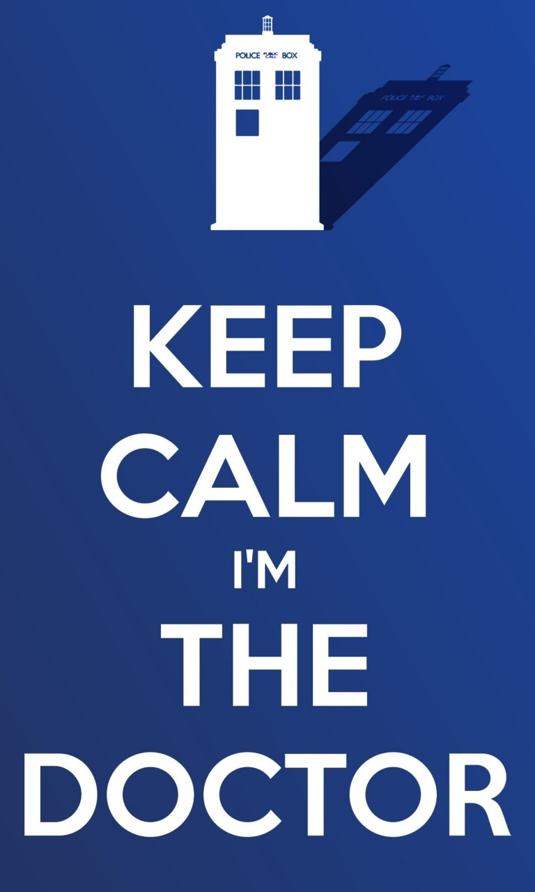 Keep Calm Im The Doctor Wallpaper for LG Optimus G