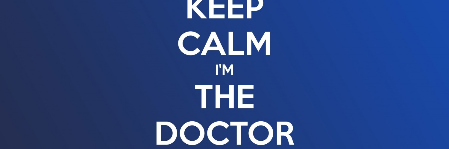 Keep Calm Im The Doctor Wallpaper for Social Media Twitter Header