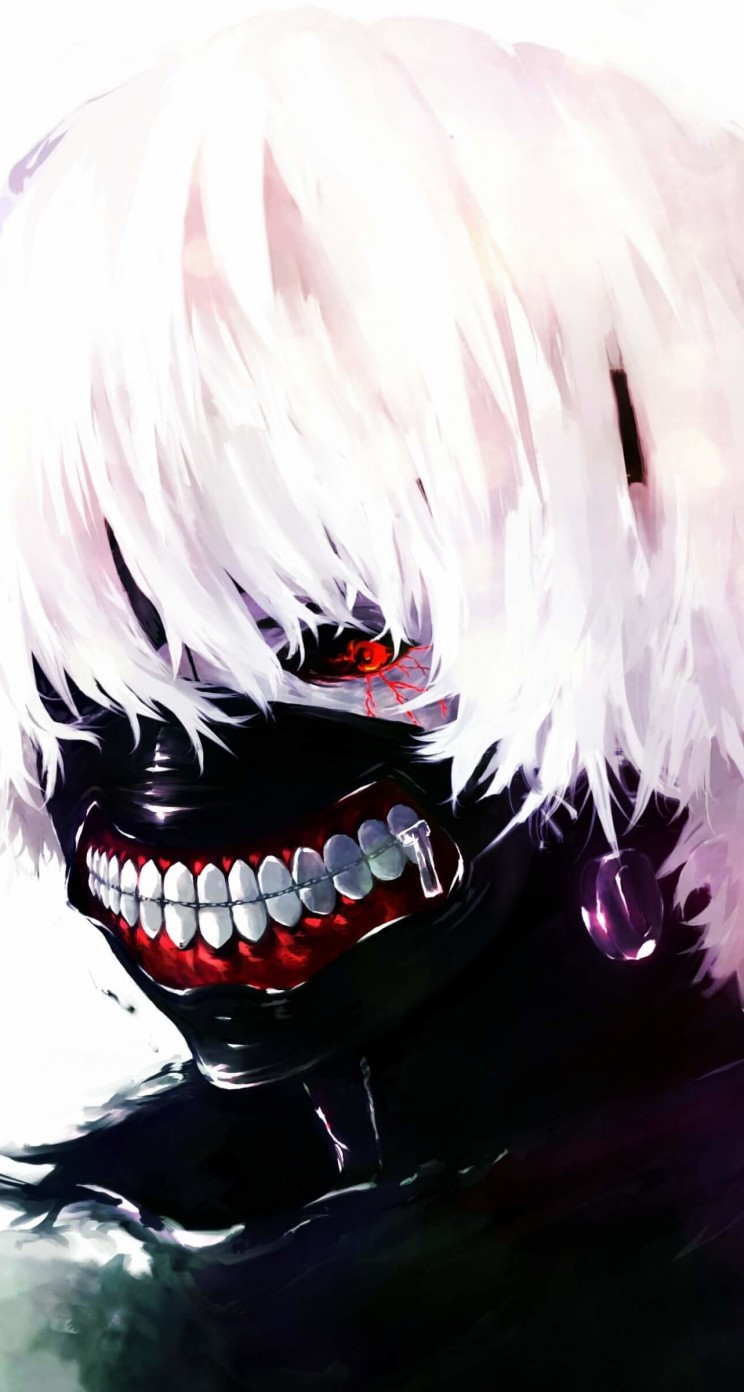 Ken Kaneki - Tokyo Ghoul Wallpaper for Apple iPhone 5 / 5s