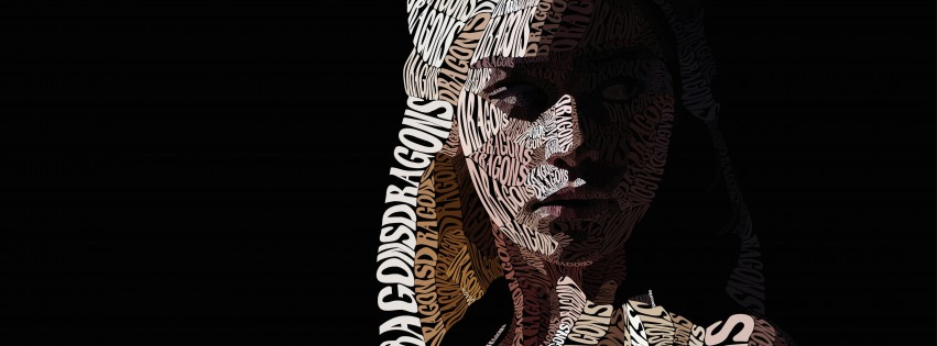 Khaleesi Typography Wallpaper for Social Media Facebook Cover