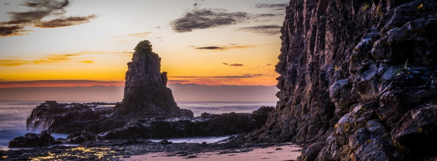 Kiama Downs, New South Wales, Australia. Wallpaper for Social Media Facebook Cover