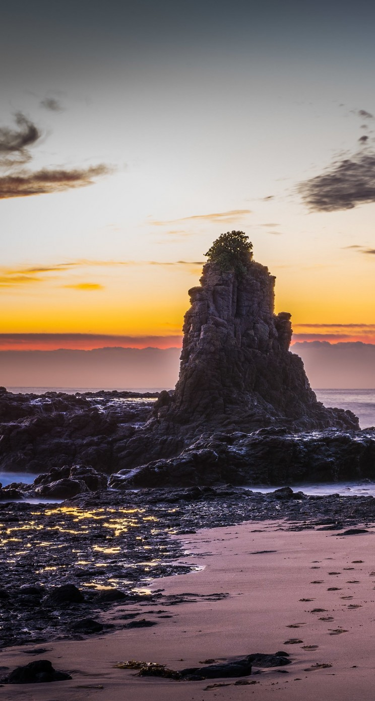 Kiama Downs, New South Wales, Australia. Wallpaper for Apple iPhone 5 / 5s