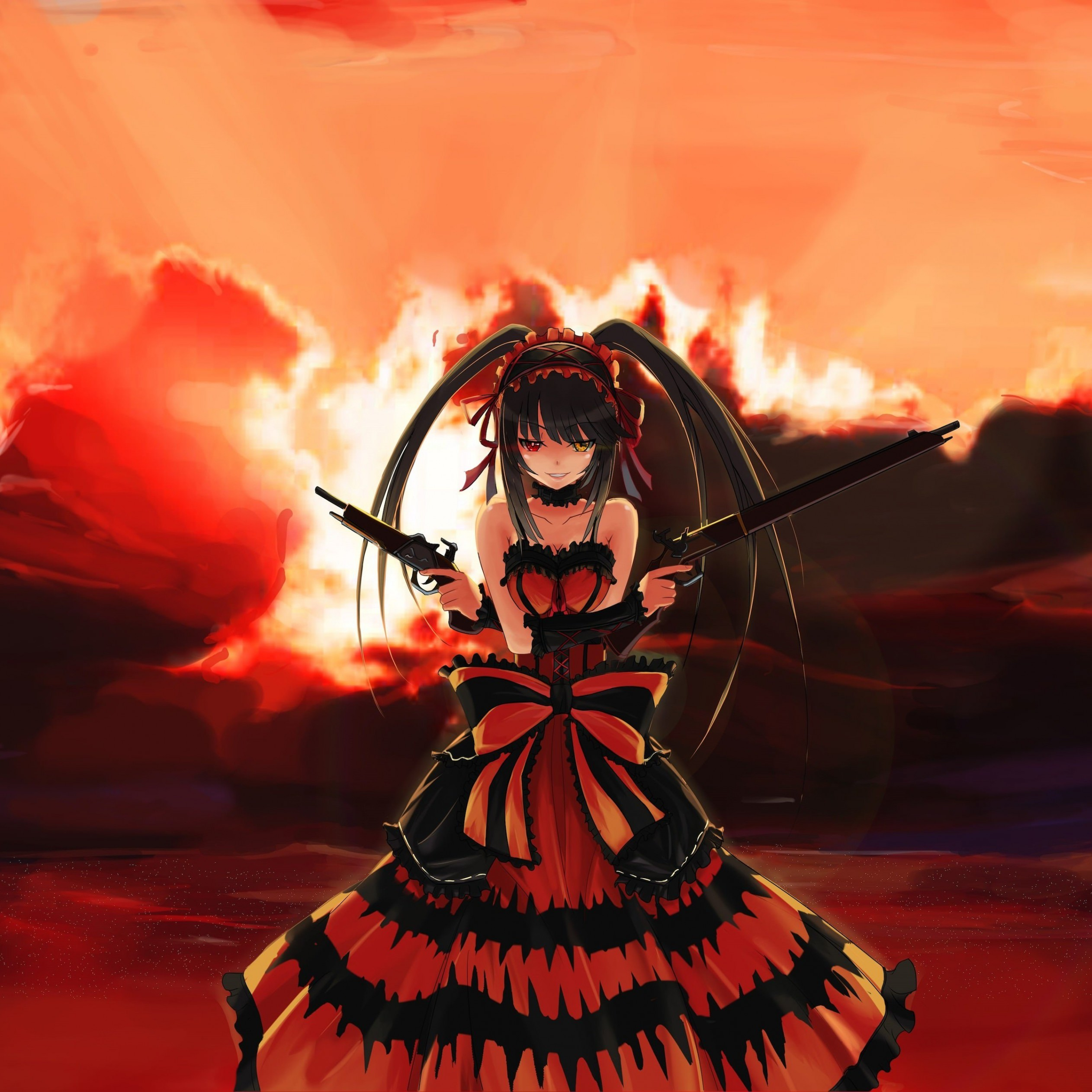 "Kurumi Tokisaki ""Nightmare"" - Date A Live Wallpaper for Apple iPad mini 2"