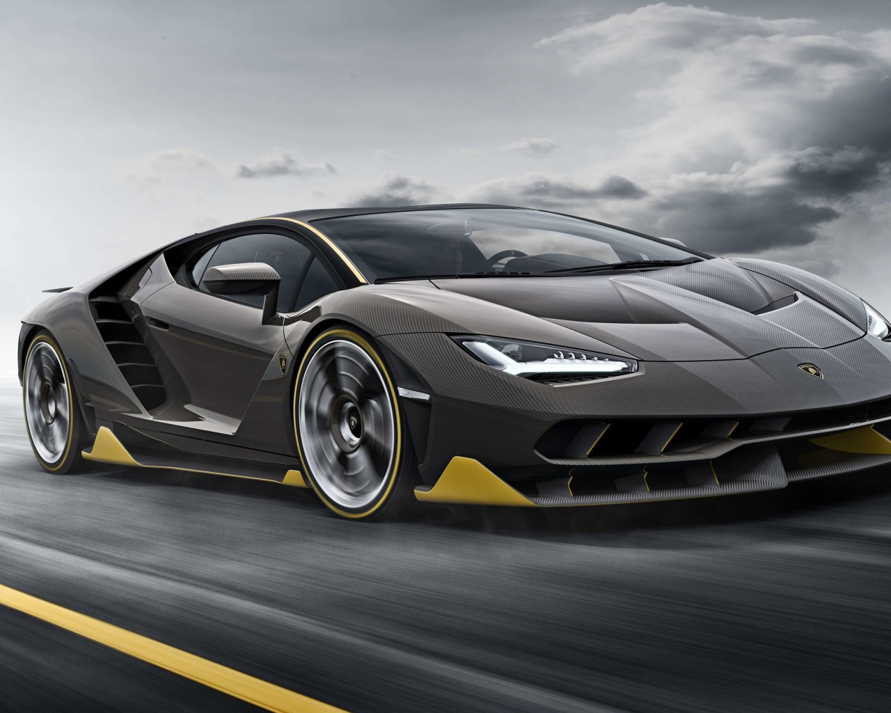 Lamborghini Centenario LP770-4 Wallpaper for Desktop 1280x1024