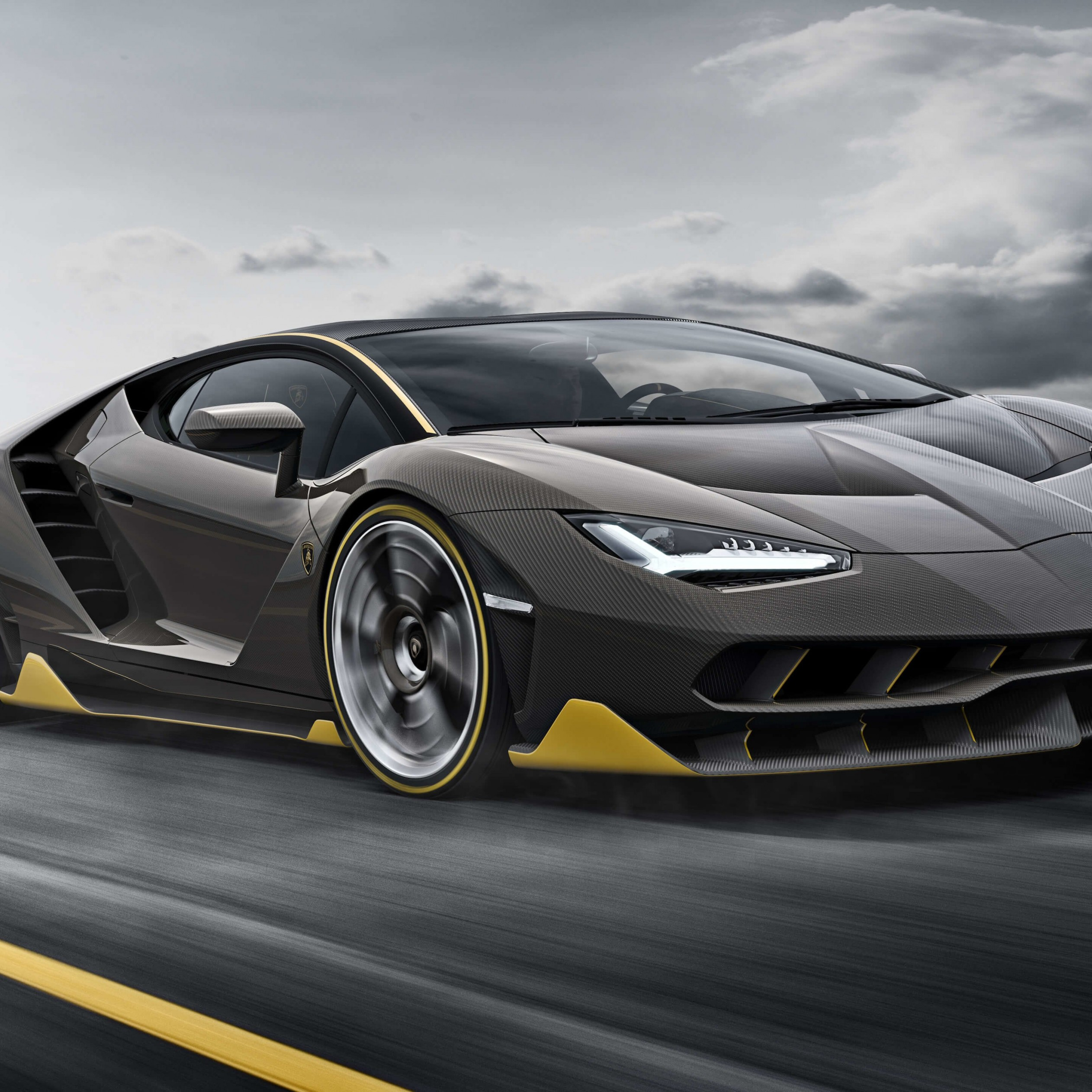 Lamborghini Centenario LP770-4 Wallpaper for Apple iPad 3