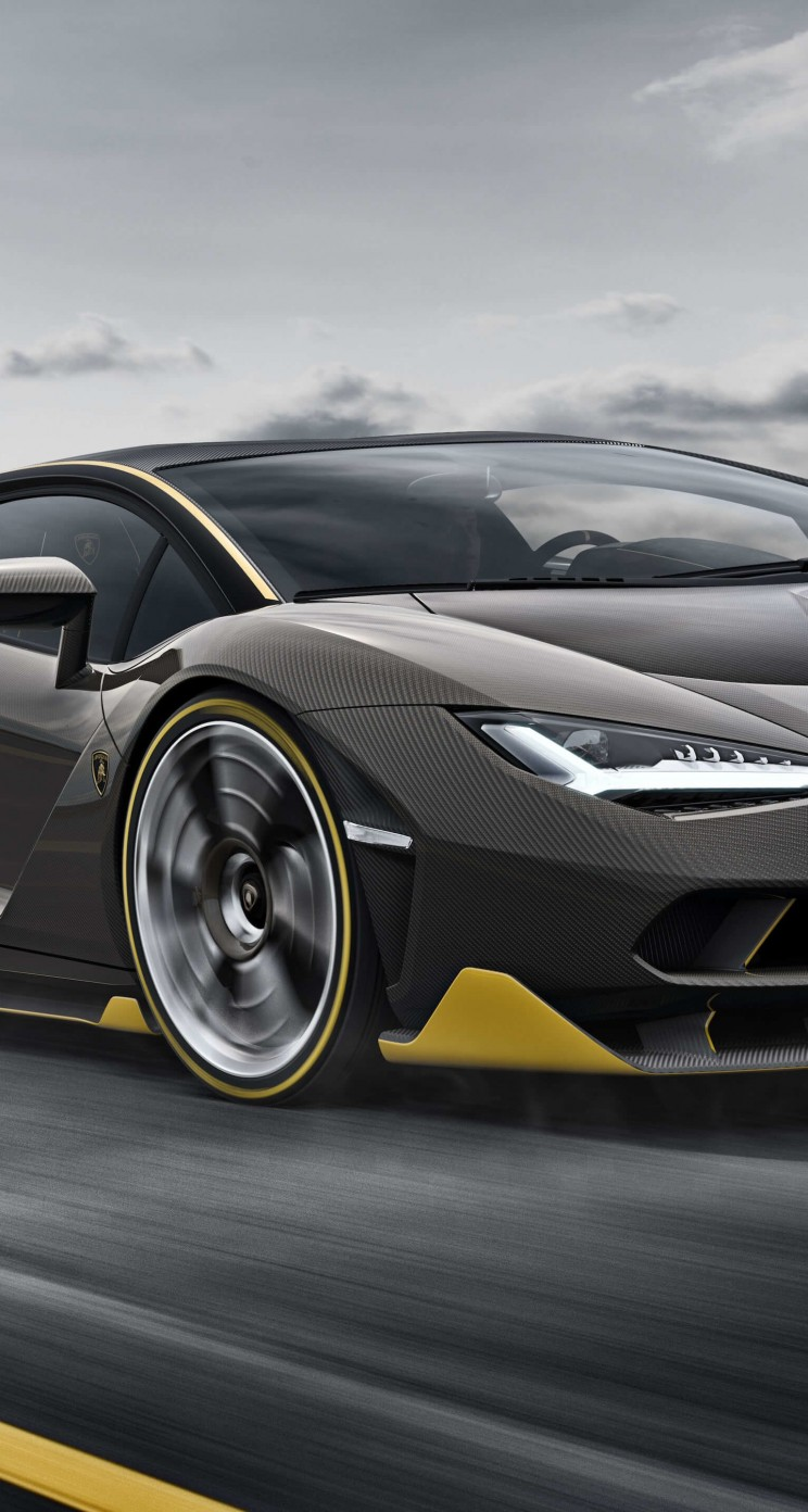 Lamborghini Centenario LP770-4 Wallpaper for Apple iPhone 5 / 5s