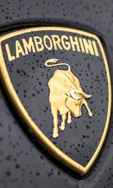 Lamborghini Logo Wallpaper for SAMSUNG Galaxy S3 Mini