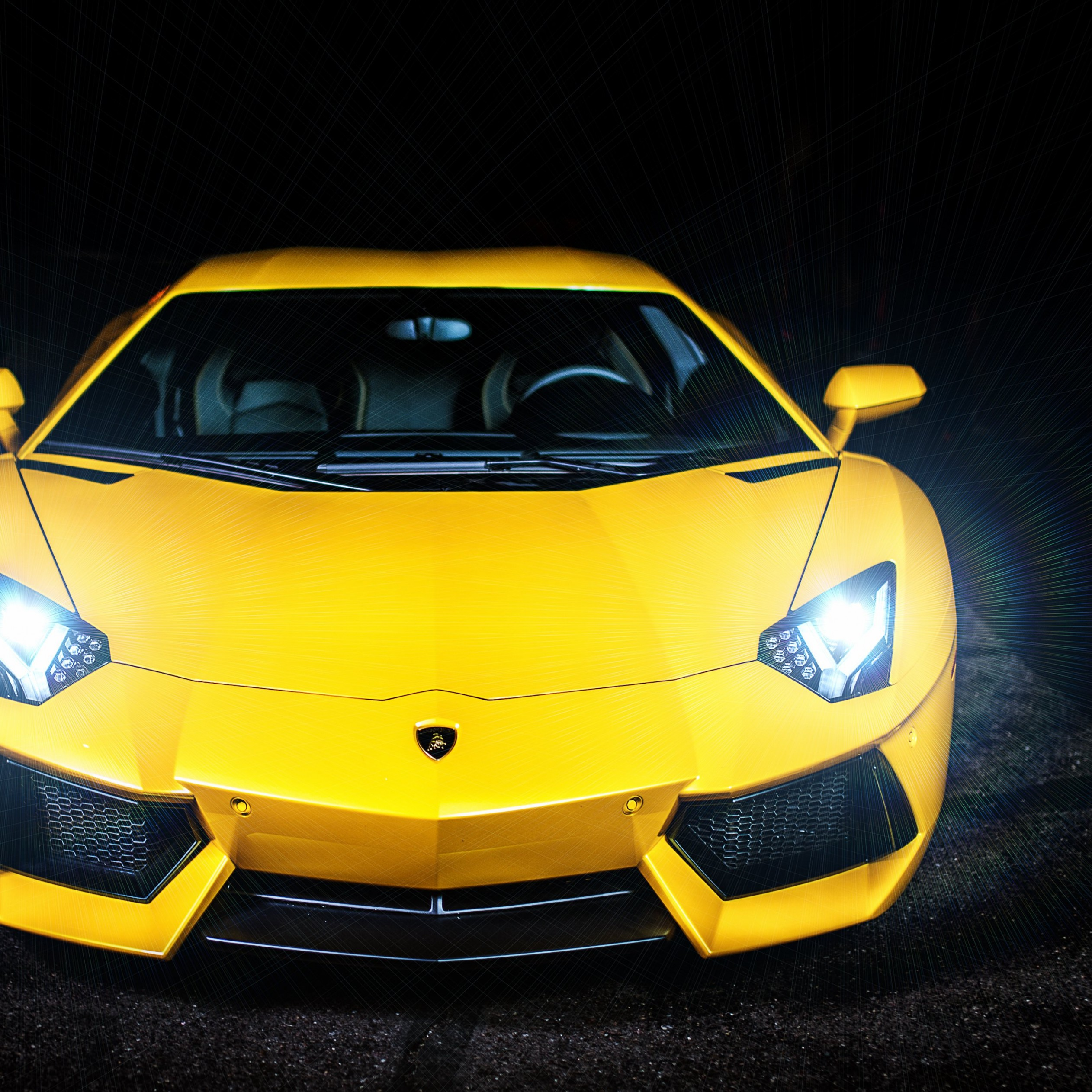 Lamborghini Murcielago LP670 Front View Wallpaper for Apple iPad 4