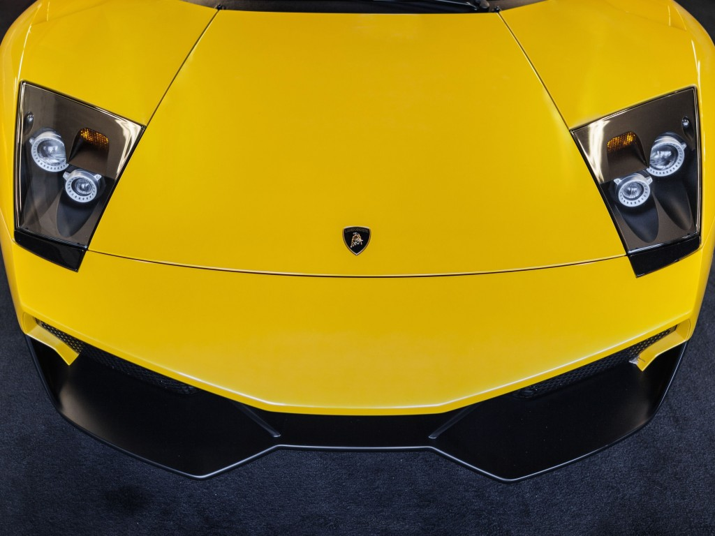 Lamborghini Murcielago LP670 Front Wallpaper for Desktop 1024x768